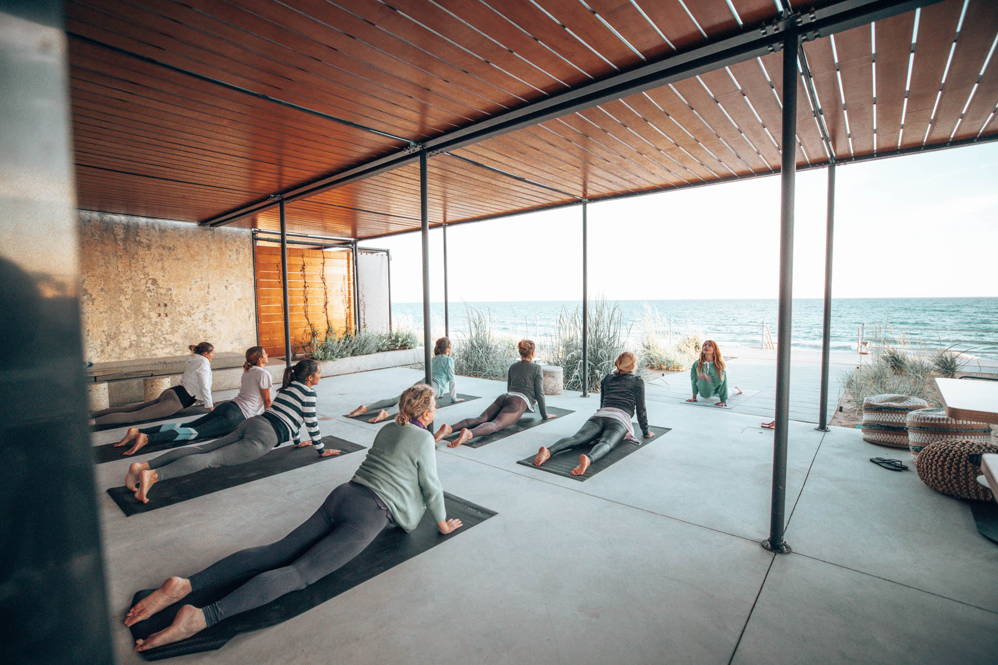 Premium Wellness Blog: The place where Yoga & Wine successfully meet